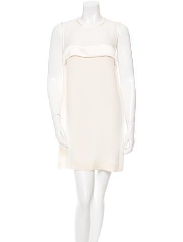 Joseph Silk Mini Dress None