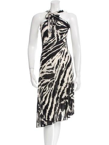 Joseph Sleeveless Printed Dress None