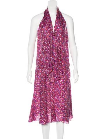 Joseph Silk Floral Dress None