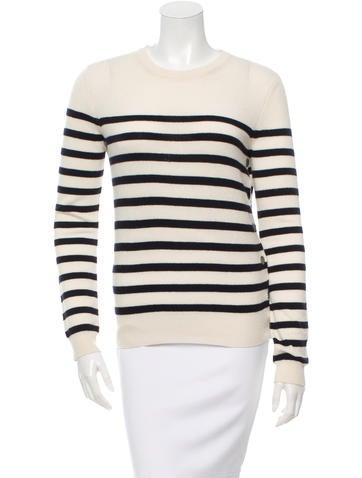 Joseph Cashmere Striped Sweater None