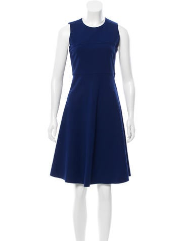 Joseph Sleeveless Knee-Length Dress None