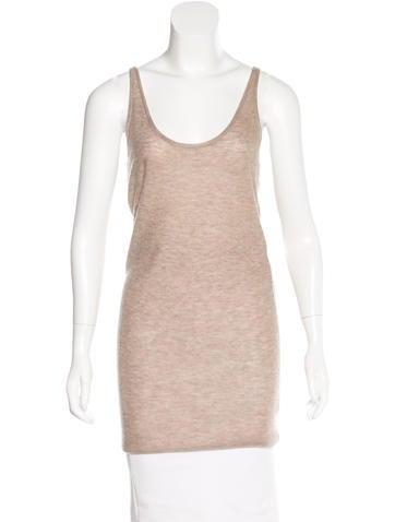 Joseph Cashmere Sleeveless Top None