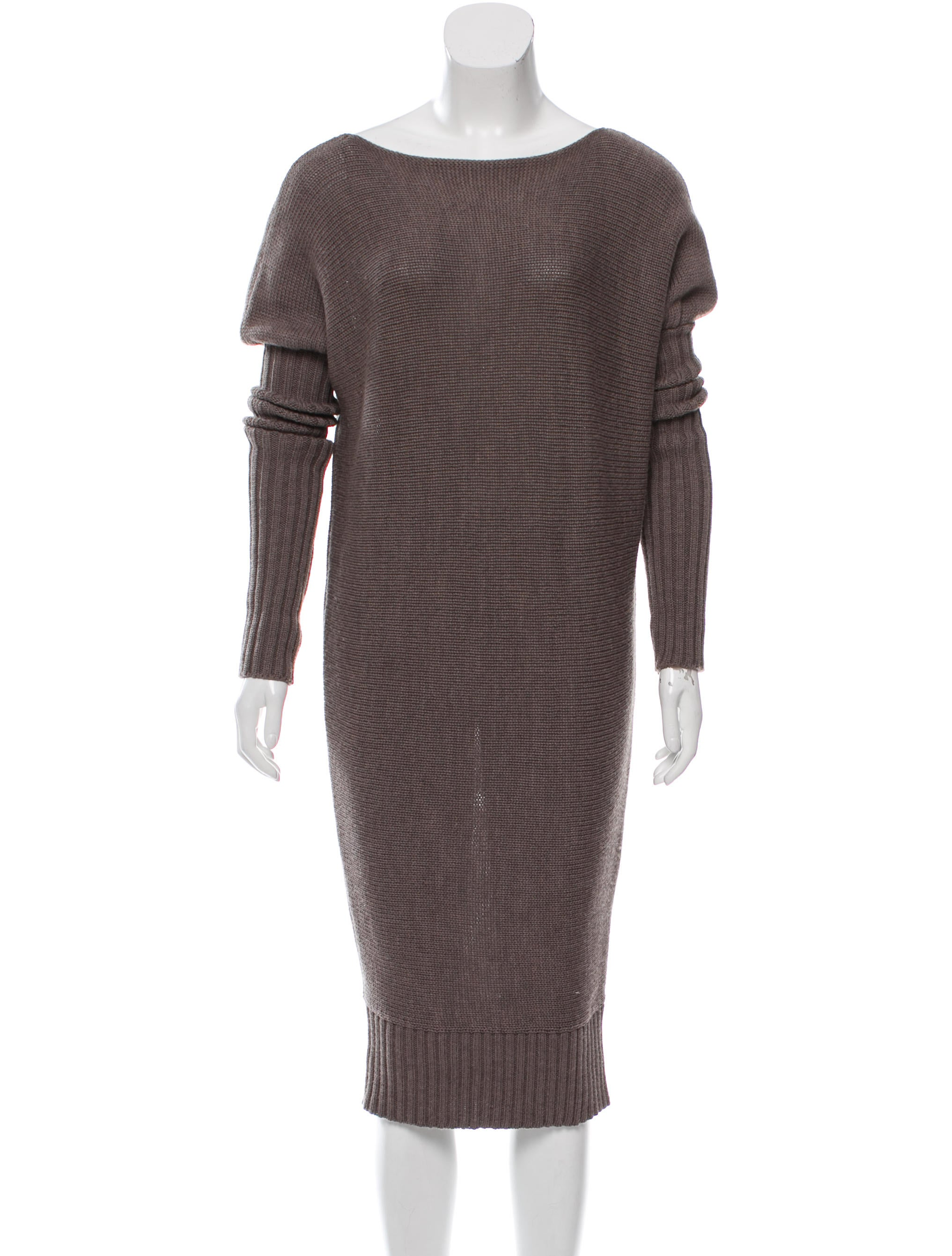 Joseph Wool Sweater Dress - Clothing - JOS23256 | The RealReal
