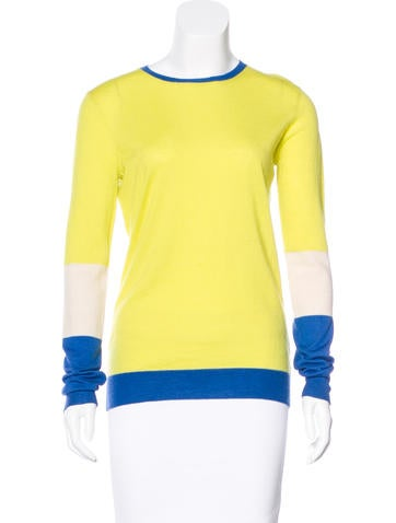 Joseph Colorblock Cashmere Sweater None