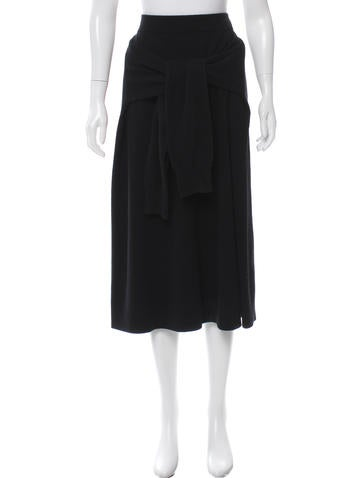 Joseph Wool Sweater Skirt None