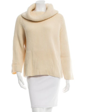 Joseph Wool Rib Knit Sweater None