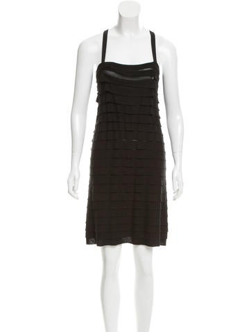 Joseph Silk Pleated Dress None