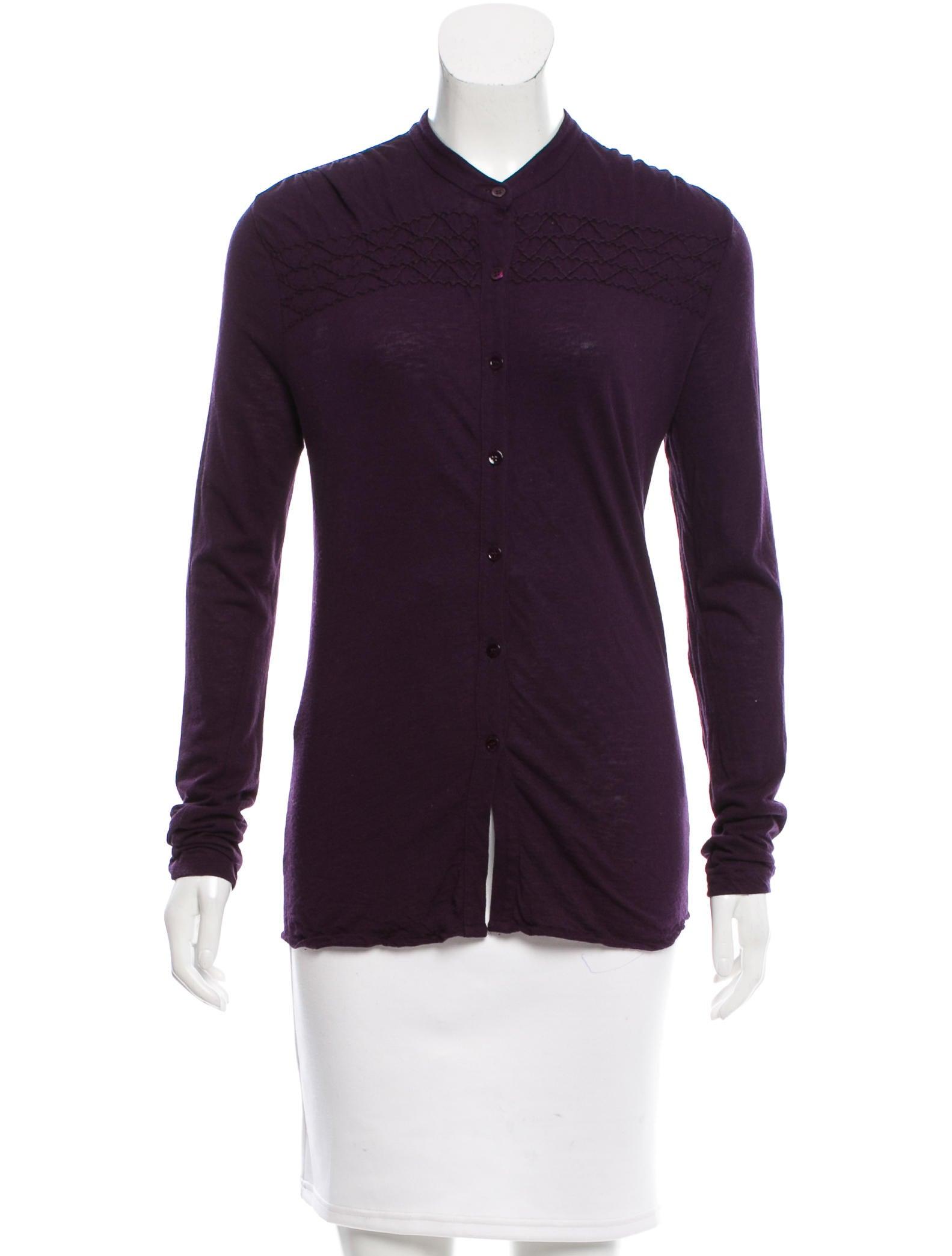 Joseph wool blend long sleeve top clothing jos23636 for Best wool shirt jackets
