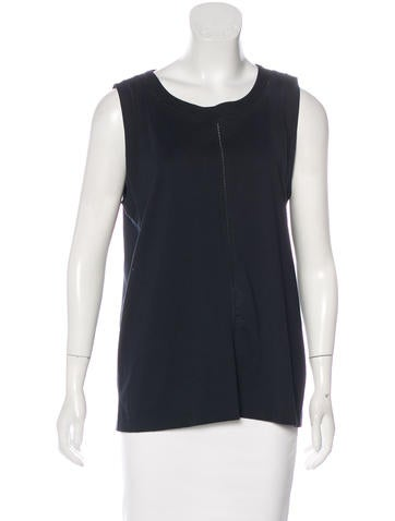 Joseph Sleeveless Woven Top None