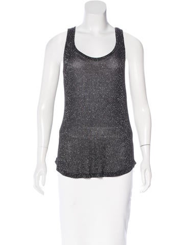 Joseph Sleeveless Knit Top None