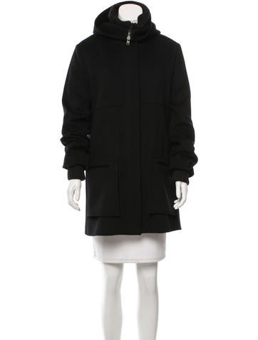 Joseph Wool Short Coat None
