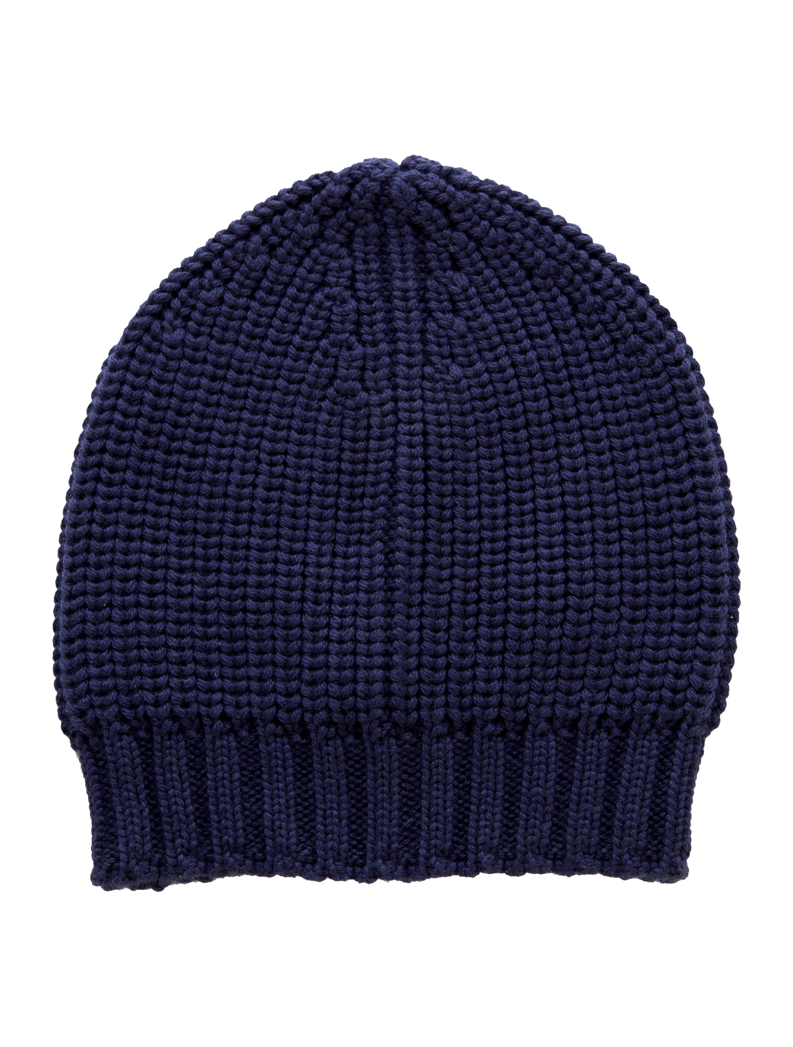 Joseph Wool Rib Knit Beanie - Accessories - JOS23970 The RealReal