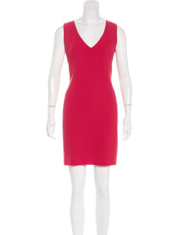 Joseph Sleeveless Sheath Dress None