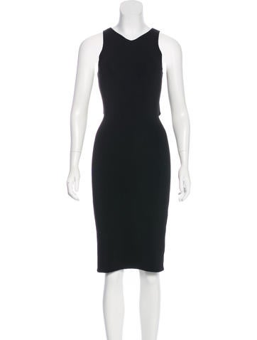 Joseph Sleeveless Cutout Dress None
