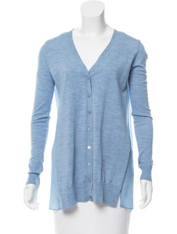Joseph Wool Knit Cardigan None