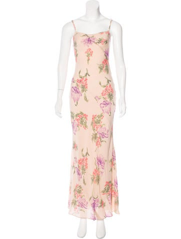 Joseph Silk Maxi Dress None