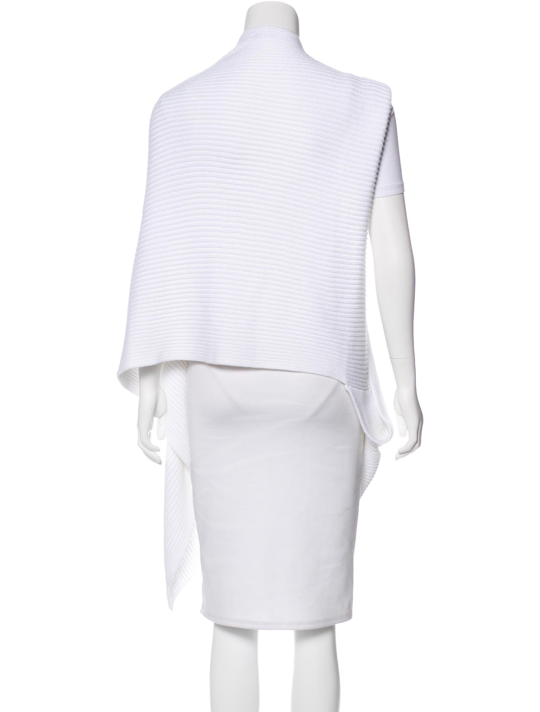 Arm Knitting Vest : Joseph longline rib knit vest clothing jos the