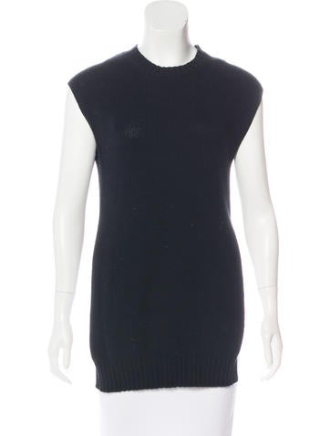 Joseph Knit Sleeveless Top None