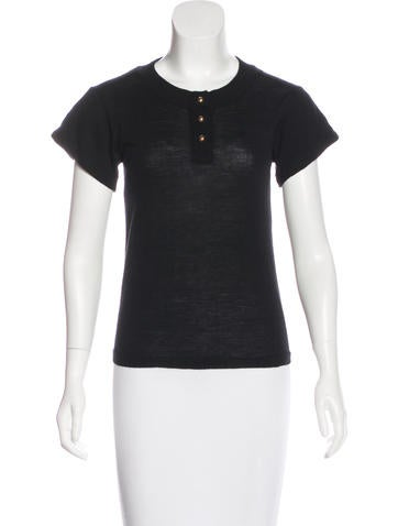 Joseph Wool Knit Top None