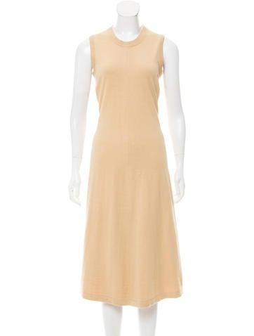 Joseph Sleeveless Midi Dress None
