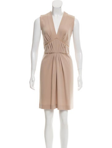 Joseph Sleeveless Knee-Length Dress None