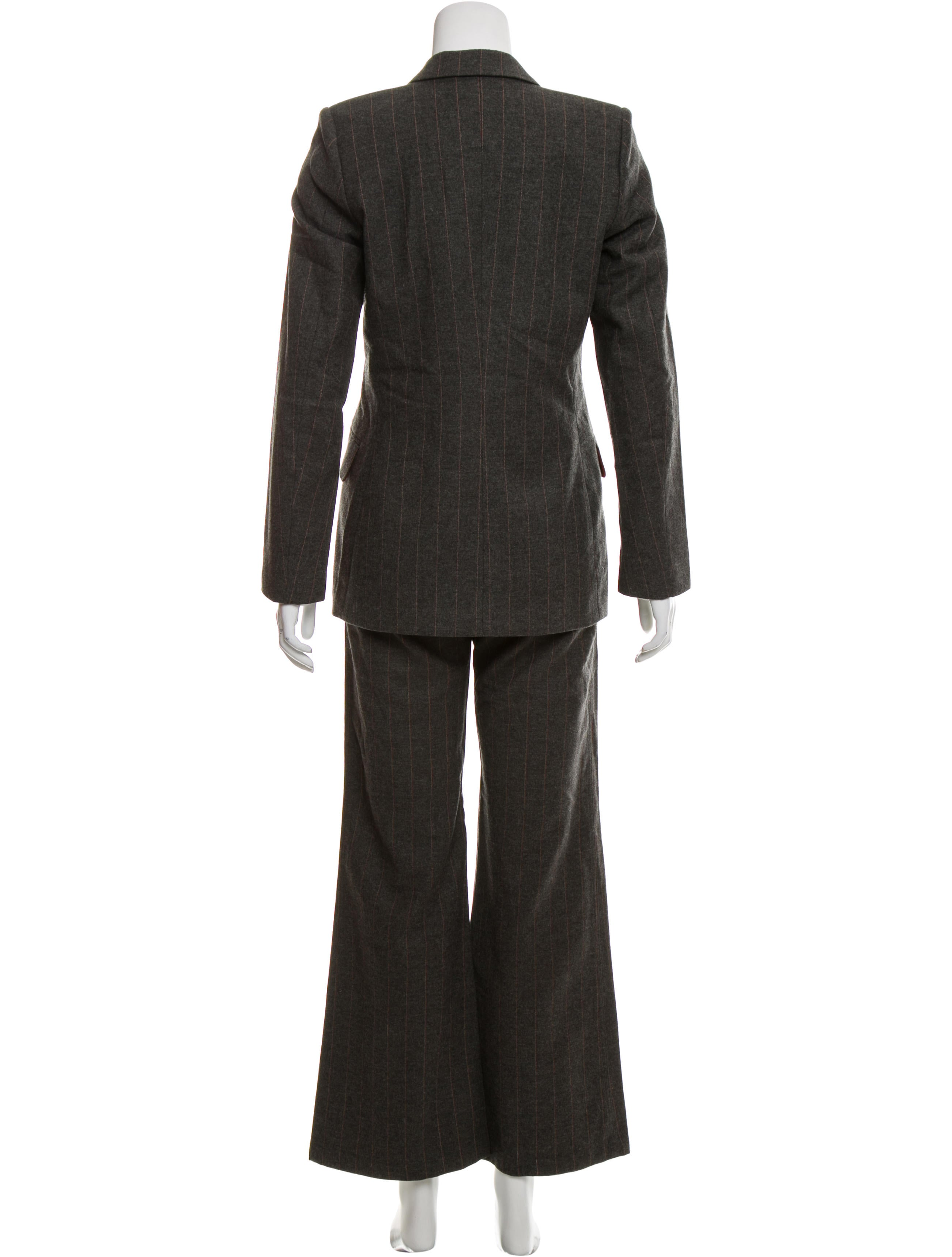 Joseph Striped Wool Pants Suit Clothing JOS24868 The  : JOS248683enlarged from www.therealreal.com size 2604 x 3436 jpeg 375kB
