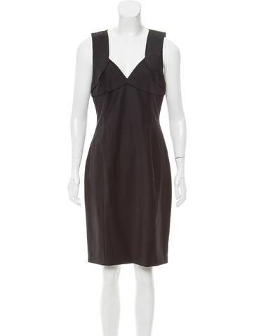 Joseph Sleeveless Wool Dress None