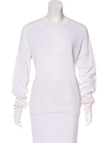 Joseph Long Sleeve Knit Sweater None