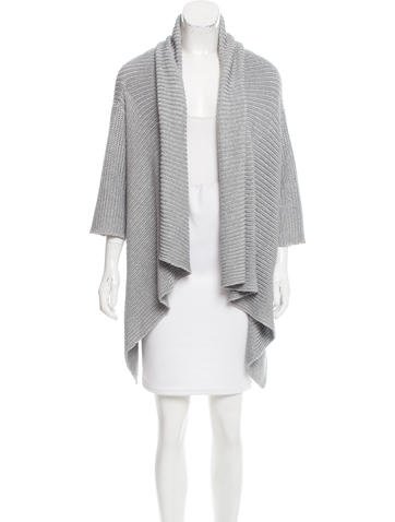 Joseph Silk Draped Cardigan None