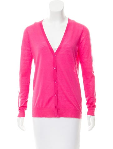 Joseph Cashmere V-Neck Cardigan None