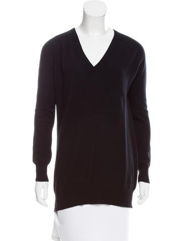Joseph Knit V-Neck Sweater None