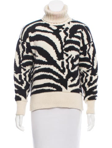 Joseph Wool Turtleneck Sweater None
