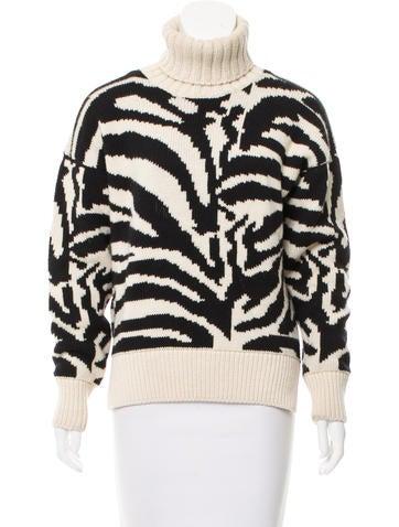 Joseph Turtleneck Wool Sweater None