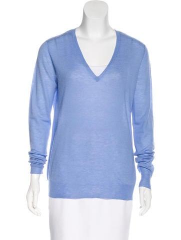 Joseph Cashmere V-Neck Sweater None