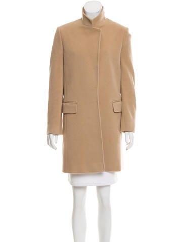 Joseph Wool Notched Lapel Coat None