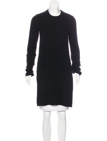 Joseph Rib Knit Wool Sweater None