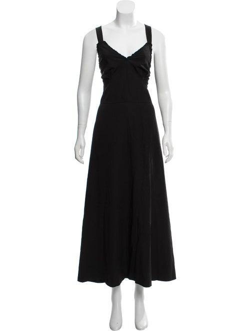 Joseph 2018 Greer Midi Dress Black