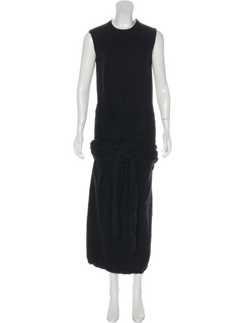 Joseph Calico Knit Dress Black