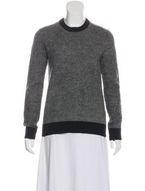 Joseph Wool Chevron Sweater w/ Tags Grey