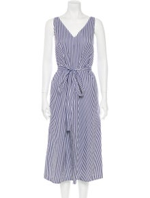 Joseph Striped Long Dress