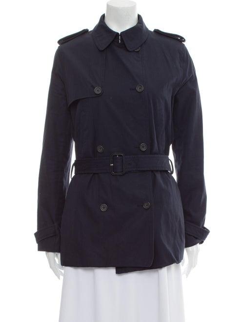 Joseph Trench Coat Blue