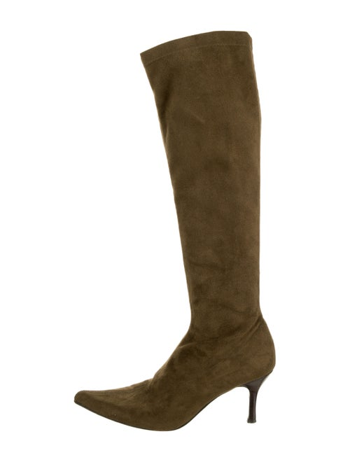 Joseph Suede Boots Green