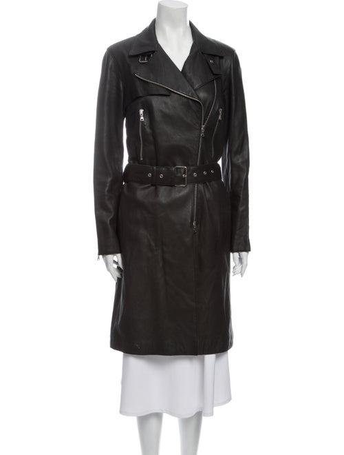 Joseph Trench Coat Black