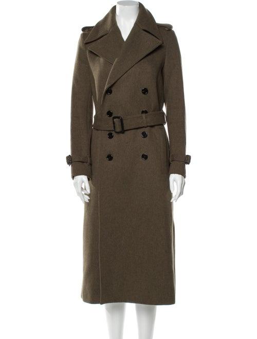 Joseph Wool Trench Coat Wool