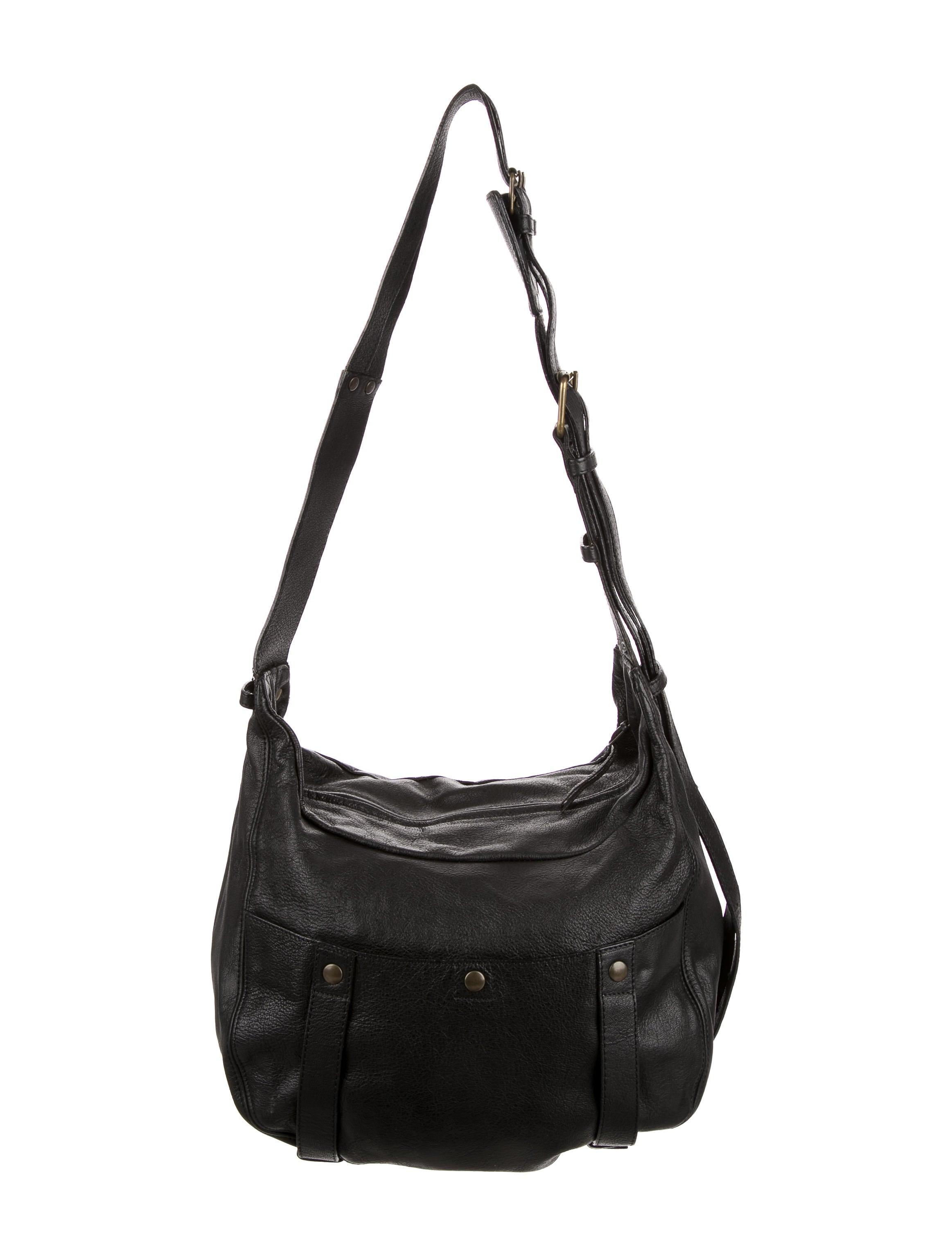Jerome Dreyfuss Leather Saddle Shoulder Bag Handbags