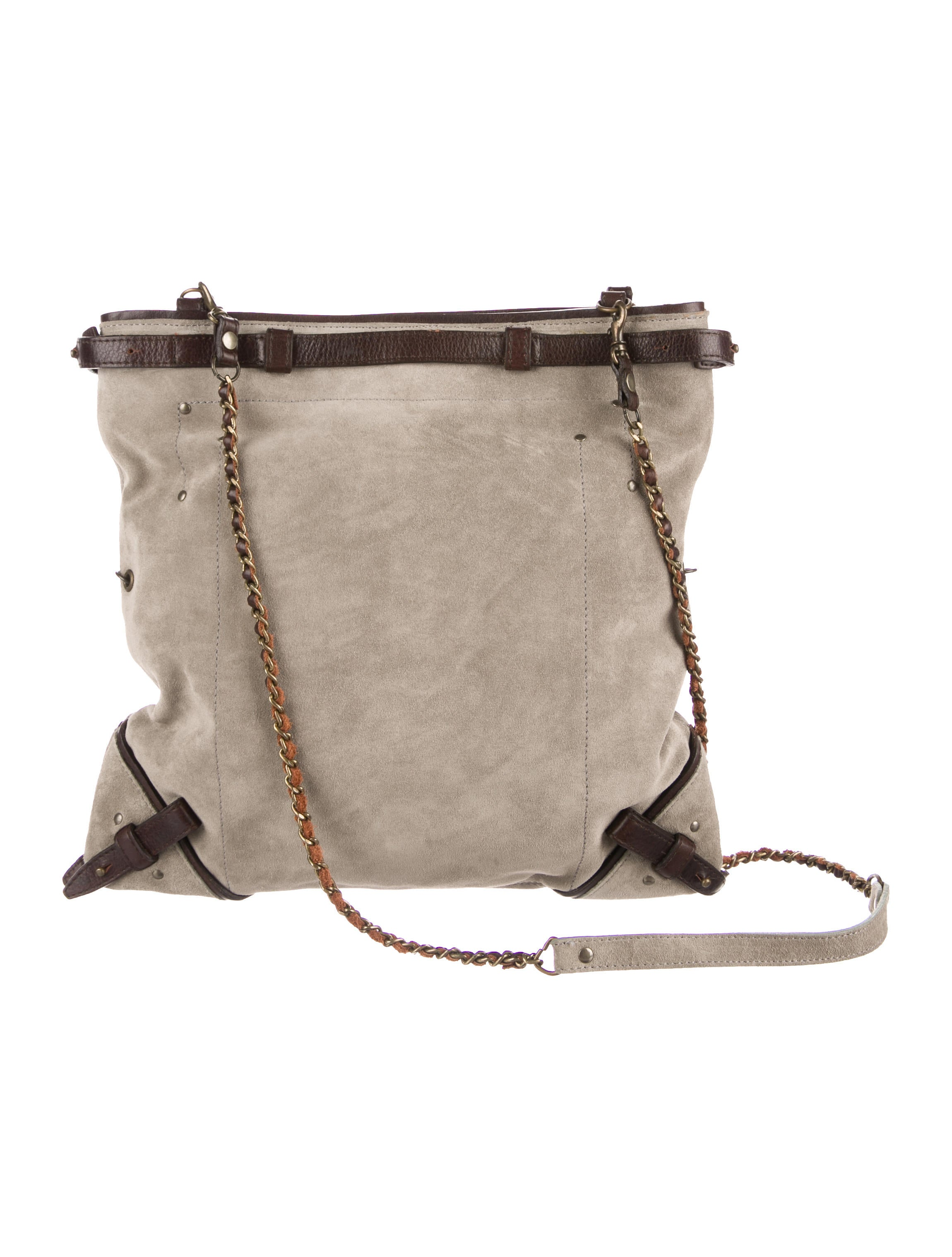 Jerome Dreyfuss Suede Crossbody Bag Handbags Jrd21182
