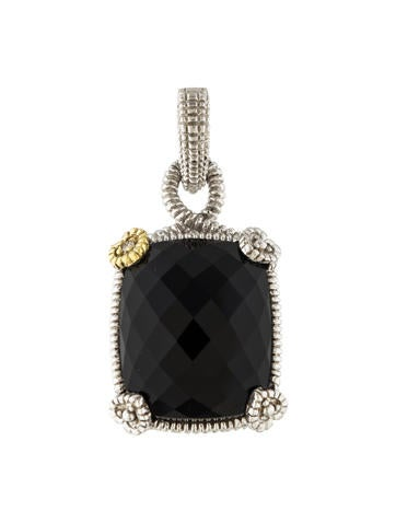 Judith Ripka Onyx Enhancer Pendant None