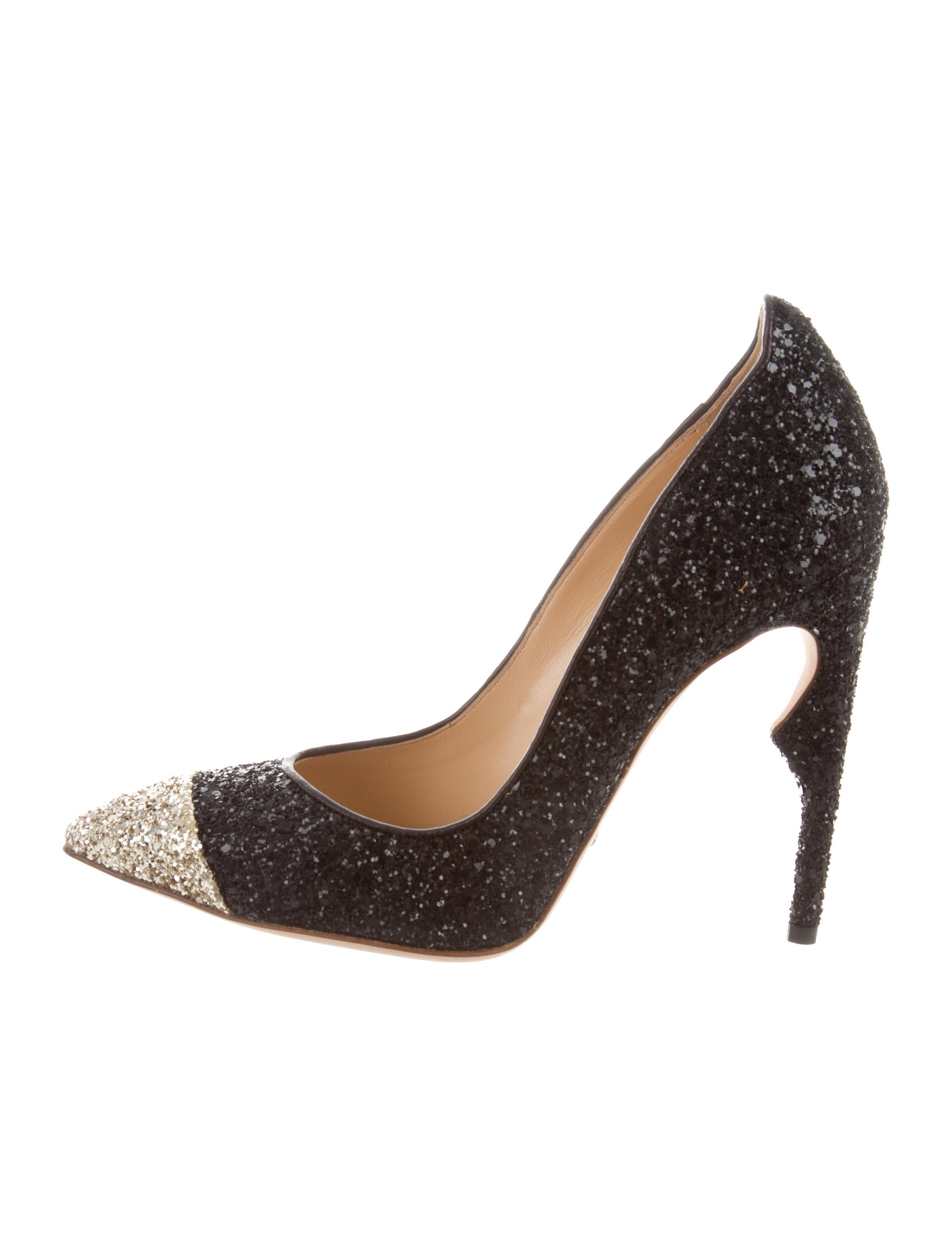 free shipping online cheap price outlet sale Jerome C. Rousseau Flicker Glitter Pumps w/ Tags cheap choice clearance store cheap price best prices cheap price jNNj0cUX8P