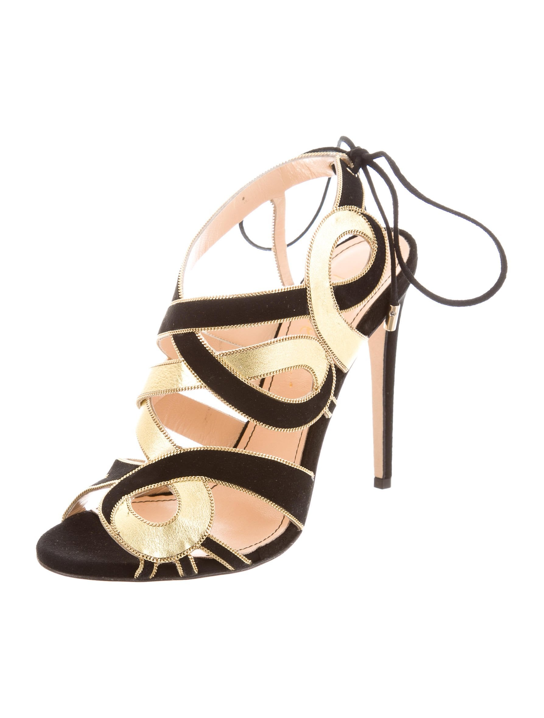 Jerome C. Rousseau Suede Cinoche Sandals w/ Tags cost cheap price quality outlet store sale pre order 4FO7f4J