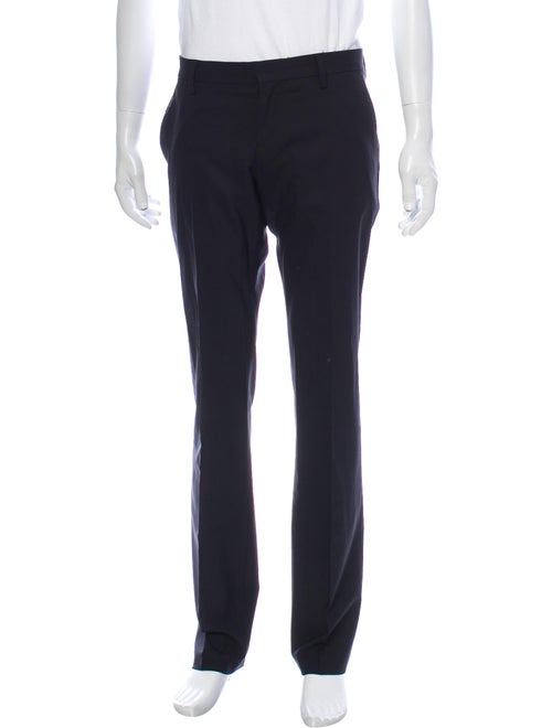 John Richmond Virgin Wool Dress Pants Wool